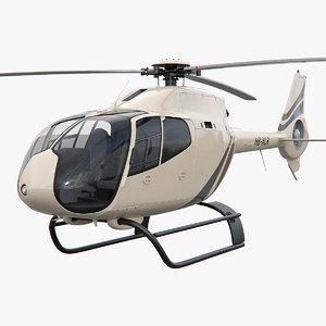 3d model copter helicopter ec