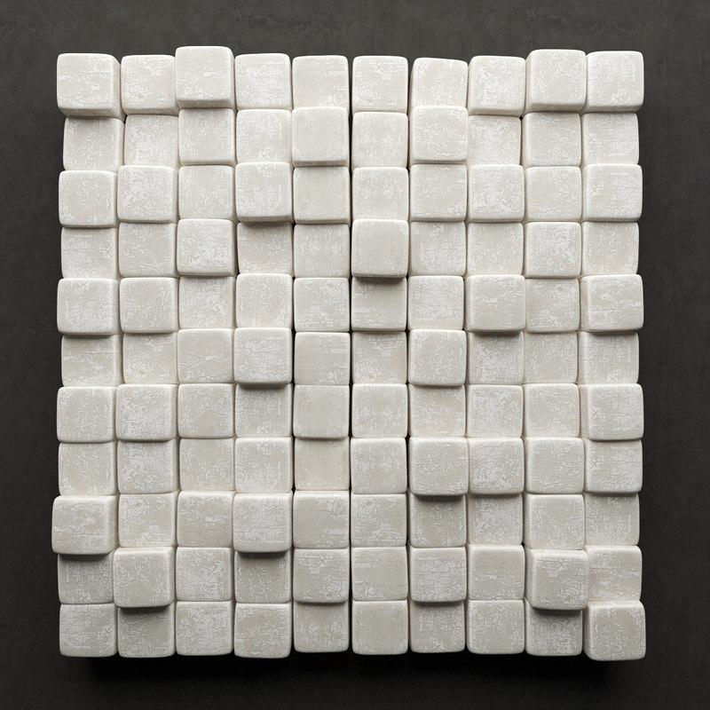 stone panel 3d max