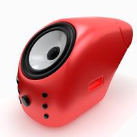 max designed speaker
