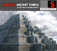 pyramid temple pack 3 obj