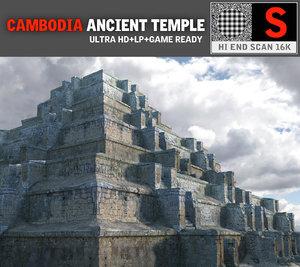 pyramid temple pack 3 obj