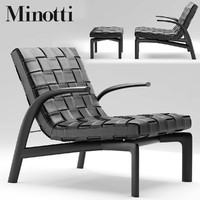 max armchair chair minotti