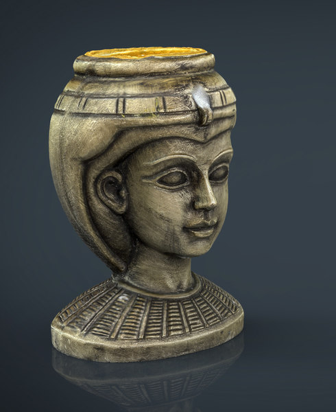 3d egyptian head model