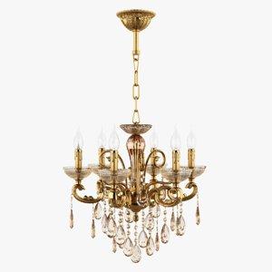 3d model chandelier 727062 md6685 6