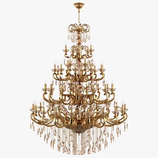 3d model of chandelier 727592 md6685 25