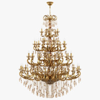 Chandelier 727592 (MD6685/25+20+15+5+9) Zar Osgona by Lightstar