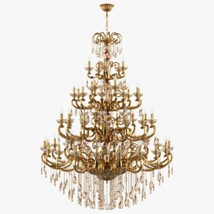 3d model of chandelier 727592 md6685 25