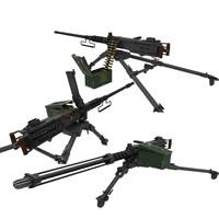 3d model m-2 50cal