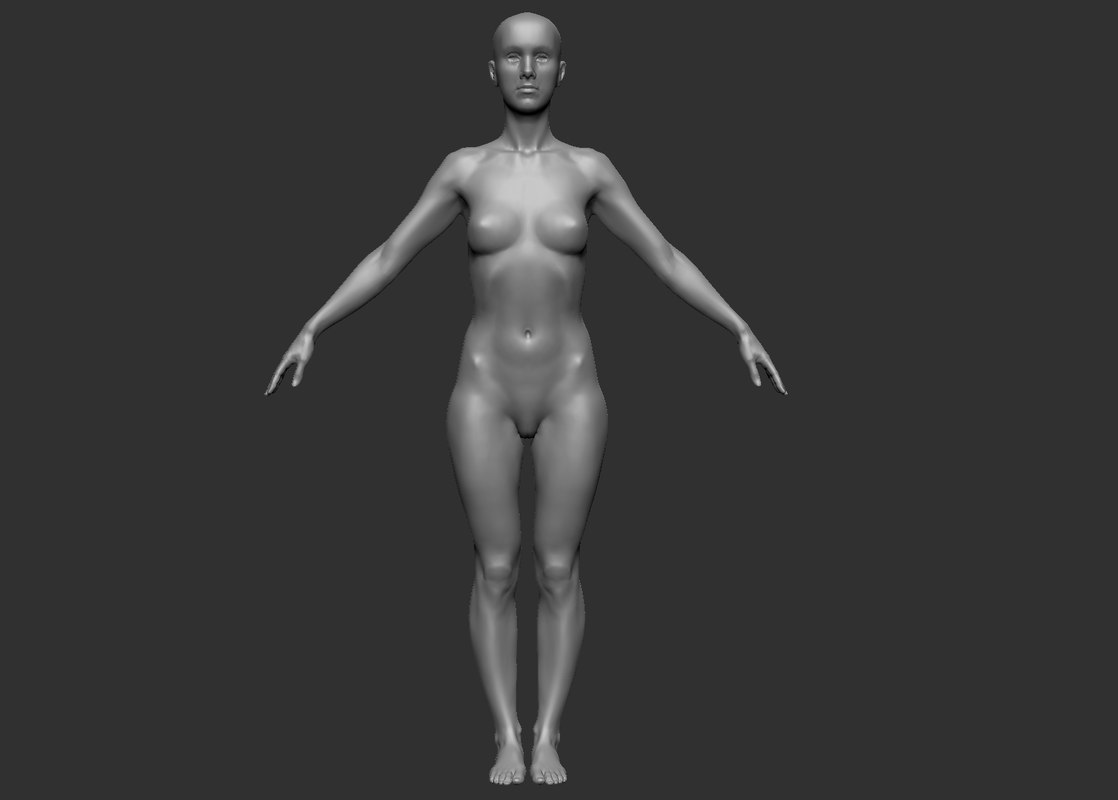 3d female base forms