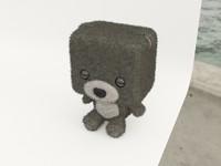 toy bear 3d model