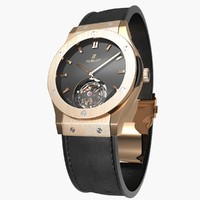 Hublot Classic Fusion Tourbillon King Gold