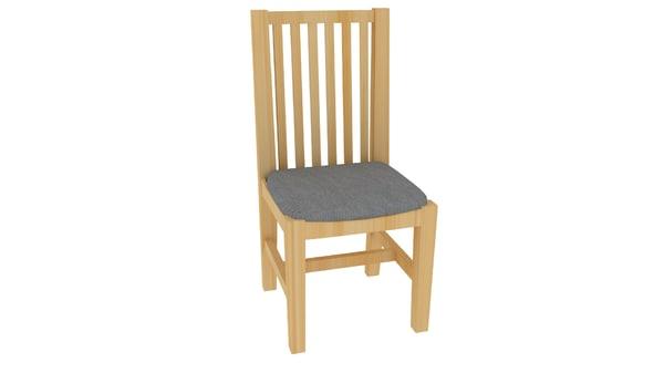 seat cushion fabric 3d obj
