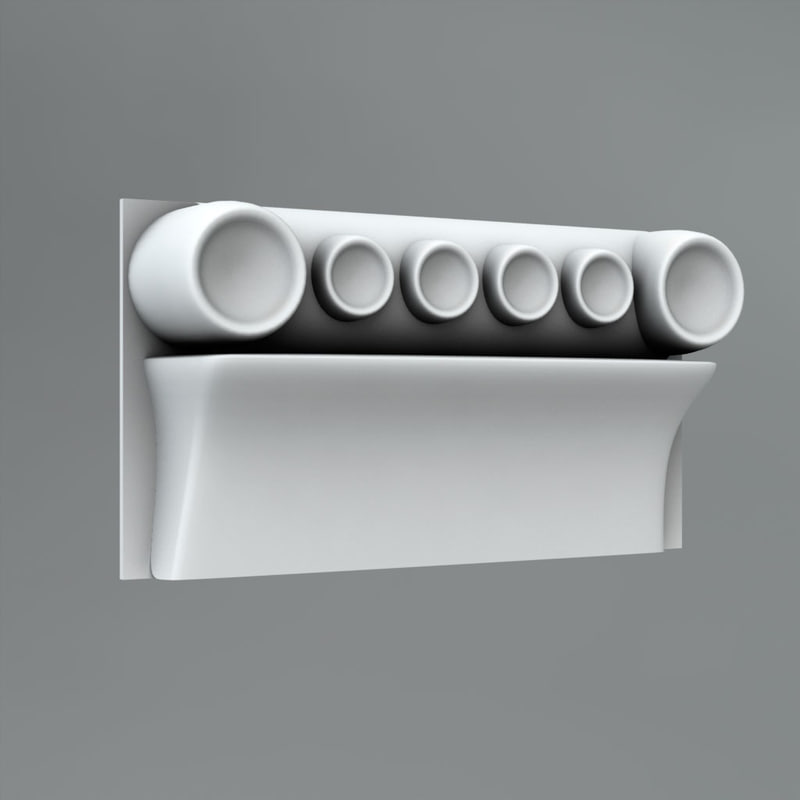 free c4d model classical decoration ornamental