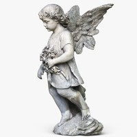 Statue Angel Girl