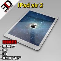 3d model of ipad air 2
