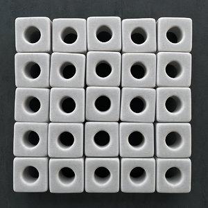 3d model stone panel