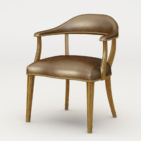 3d model chair ralph lauren hither