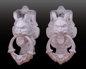door knocker 3d model