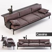 3d max cassina sofa