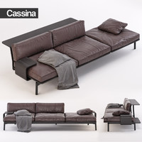 Sofa Cassina 288 03/23 Sled