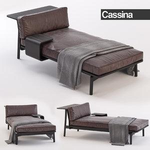 cassina sofa 3d max