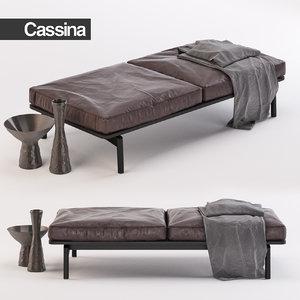 cassina sofa 3d model