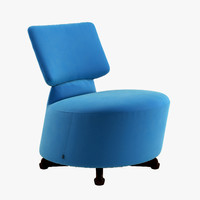 3d cassina armchair