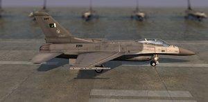 3d pakistan f16 model