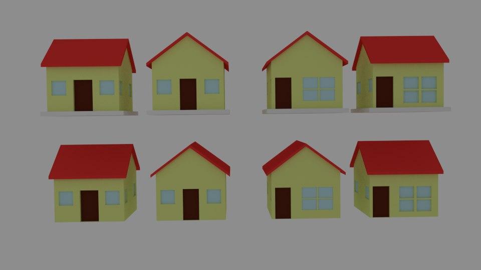 toon house 3d 3ds