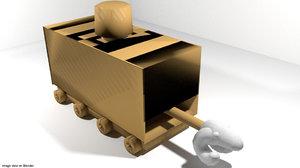 3d model siege siegecraft medieval