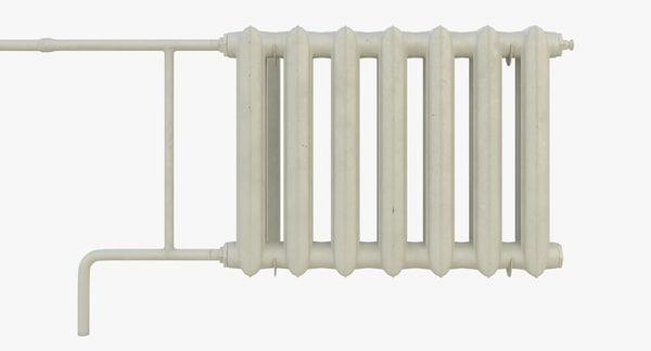 3d model radiator heater