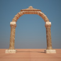 free arch 3d model