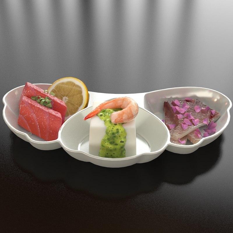 3d model 15 dish