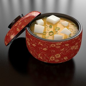 2 miso soup max