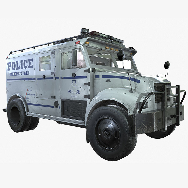ready swat truck 3d 3ds