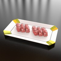 19 wagyu beef 3d max