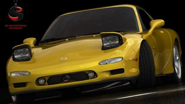 1997 Mazda Rx7 Interior