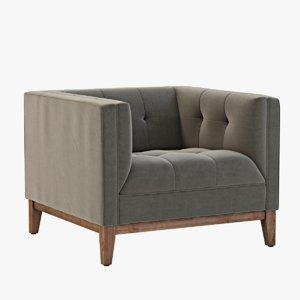 max chair modern gus