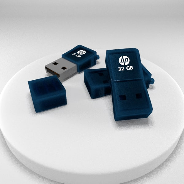 3d hp pendrive