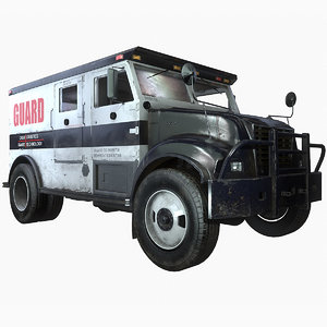 ready armored truck 3ds