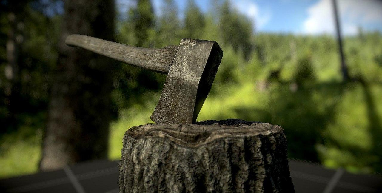 max axe hatchet chop
