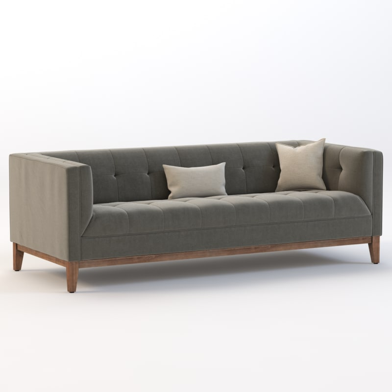 3d sofa modern atwood