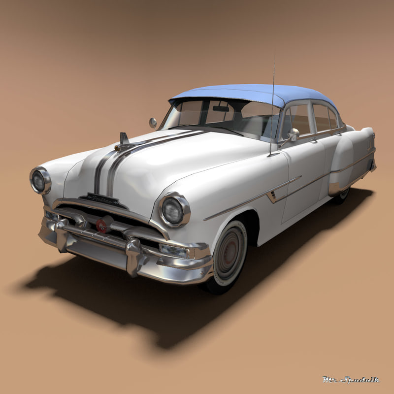pontiac chieftain 1953 3ds