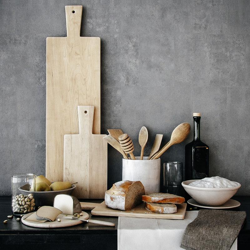 3d decoration kitchen table