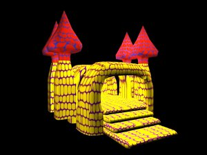 inflatable castle max