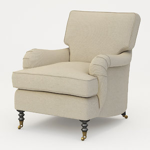 armchair george smith chairs 3d max