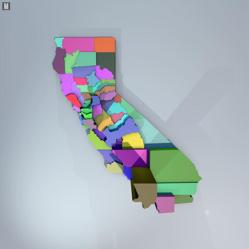 3d california data
