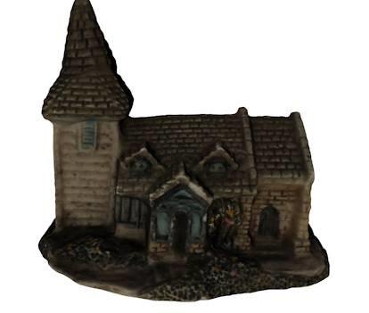 realistic church 3d model