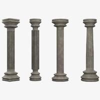 3ds columns lightwave