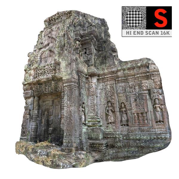 3d angkor temple 16k